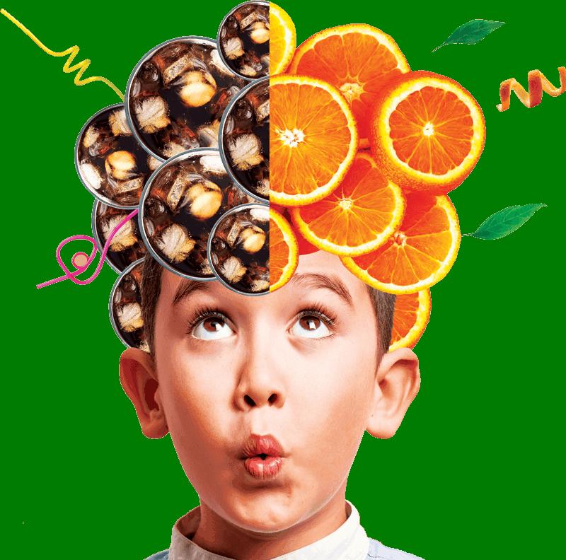 Boy with orange and coke hair no halo