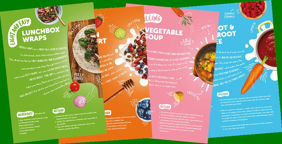 Food book page selection optim